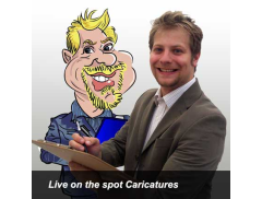 GROVES CARICATURES Logo