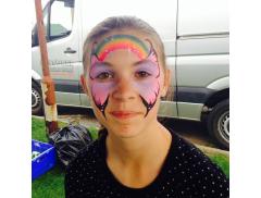 Sixth Moon Art Face Painting & Glitter Tattoos Logo