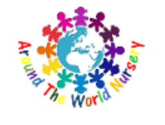 Around the World Events Mobile CrèChe Logo