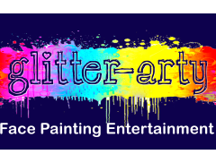 Glitter-Arty Face Painting Logo