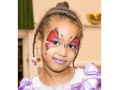 The Face Painting Bug Logo