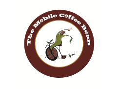 The Mobile Coffee Bean Logo