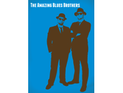 The Amazing Blues Brothers Logo