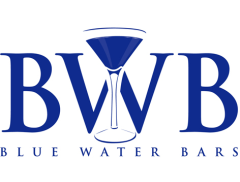 Blue Water Bars Logo