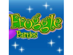 Froggle Parties Sussex Logo