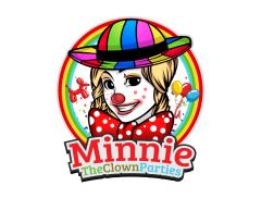 Minnie the Clown Parties Logo