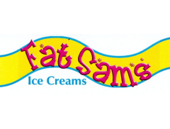 FAT SAM'S ICE CREAMS Logo