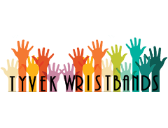 TYVEK WRISTBANDS Logo