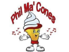 Phil Ma'Cones Ices Ltd Logo