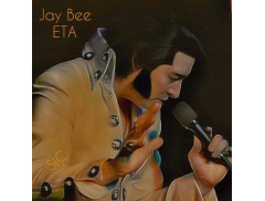 James Burrell as Elvis Presley Logo