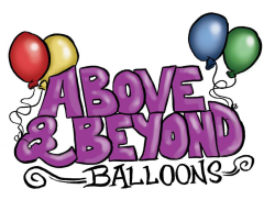Above & Beyond Balloons Logo