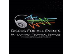 Discos for All Events Logo