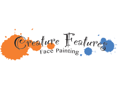Creature Features Face Painting Logo