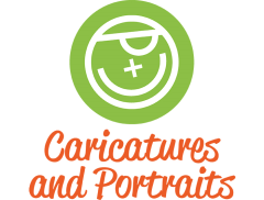 Caricatures and Portraits Logo