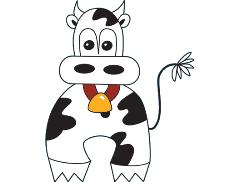 Cheeky Moo Face Painting Logo