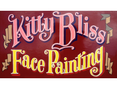 Kitty Bliss Face Painting Logo