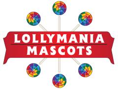 Lollymania Mascots Logo