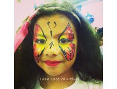 Tash Face Painting  Logo