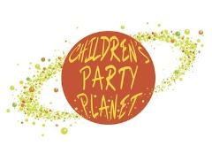Children Party Planet Logo