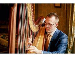 Llywelyn Ifan Jones - Harpist Logo