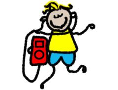 Boogie Tots Dance Parties Logo