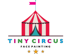 Tiny Circus - Face Painting Logo