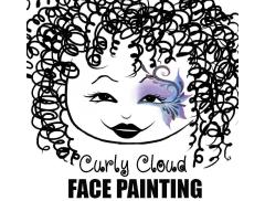 Curly Art Cloud Logo