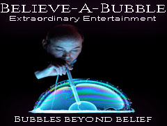 Believe-a-Bubble Logo