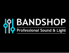 Bandshop Sound & Light Logo