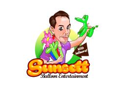 Sunsett Balloon Entertainment Logo