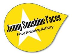 Jenny Sunshine Faces Logo