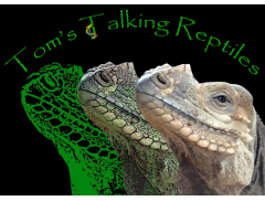 Tom's Talking Reptiles Logo