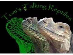 Tom's Talking Reptiles Logo