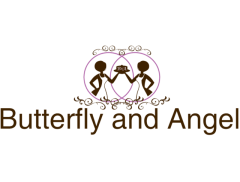 Butterfly & Angel Logo