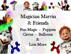 Magician Marvin Logo