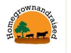 Homegrownandraised Logo