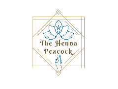 The Henna Peacock Logo