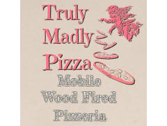 Truly Madly Pizza  Logo