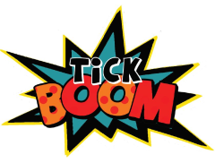 Tick Boom Face Painting Logo