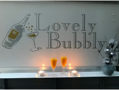 Lovely Bubbly Mobile Bar Logo