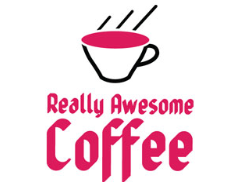 Really Awesome Coffee HQ Logo