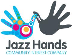 Jazz Hands CIC - Palace Theatre Paignton Logo