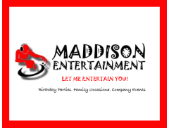 Maddison Entertainment  Logo