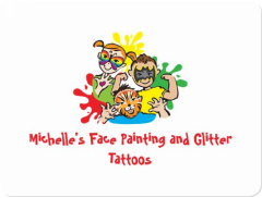 Michelle's Face Painting and Glitter Tattoos Logo