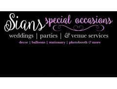 Sians Special Occasions Logo