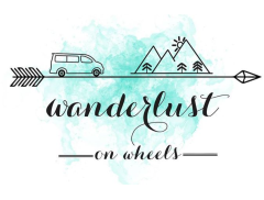 Wanderlust on Wheels Logo