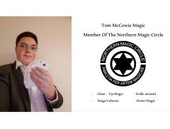 Tom McCowie Magic Logo