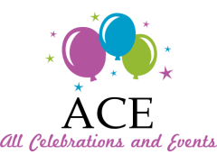 Ace balloons and Events Logo