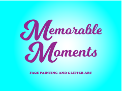 Memorable Moments Face Painting Logo