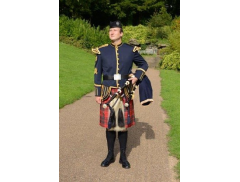 Malcolm Smith- Scottish Bagpiper Logo